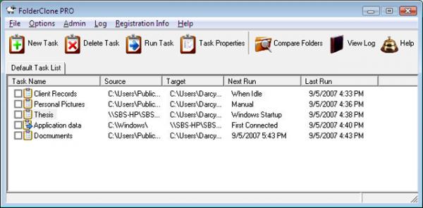 FolderClone – 文件夹克隆工具[Windows][$29.95→0]