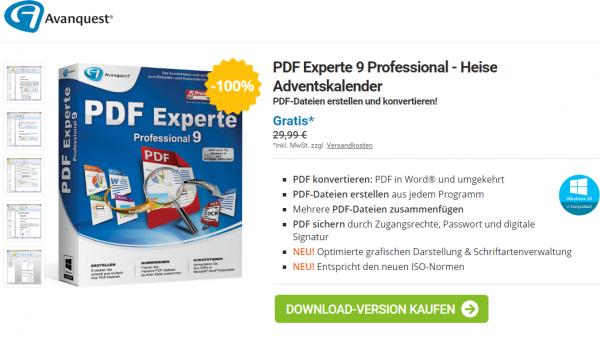 PDF Experte 9 Professional – PDF 文档处理工具[Windows][$27.14→0]