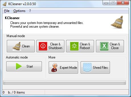 KCleaner – 磁盘清理工具[Windows][.99→0]