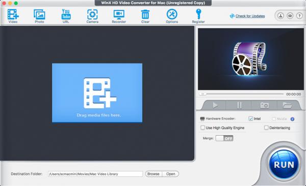WinX HD Video Converter Deluxe – 高清视频转换软件[Windows][.95→0]