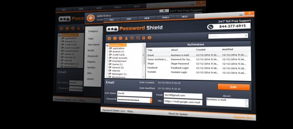 Password Shield Pro – 密码创建、存储、管理工具[Windows][$39.99→0]