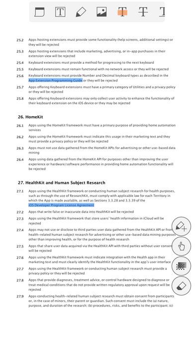 ezPDF Reader – PDF 文档阅读编辑工具[iOS][¥25→0]