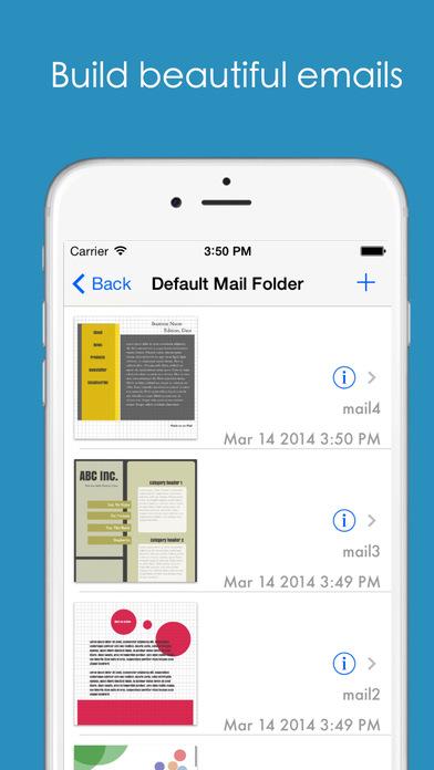HTML Mailer – 邮件样式设计工具[iOS][¥30→0]