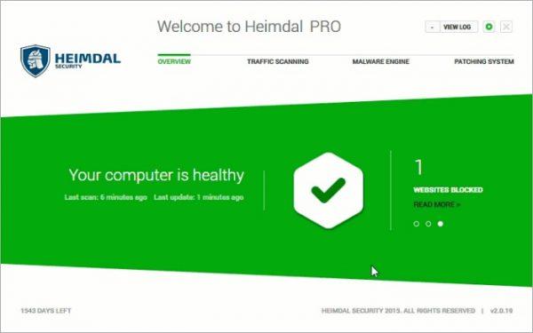 Heimdal Pro — 系统安全防御软件[PC][→0]