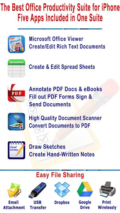 Office Suite – 办公文档套件[iOS][¥25→0]