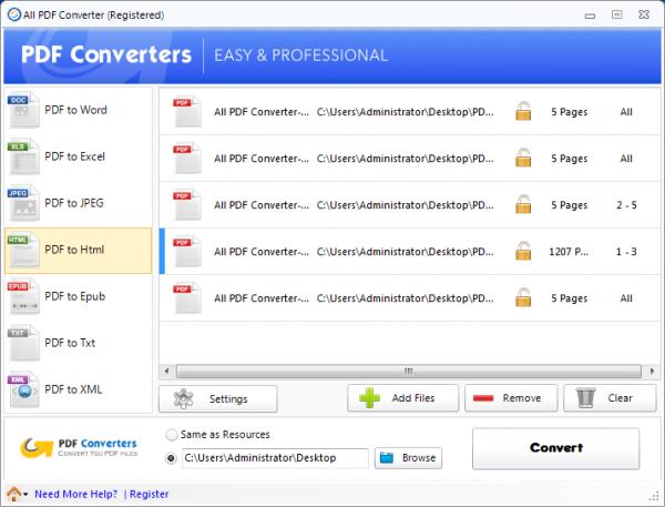 All PDF Converter – 全能 PDF 转换器[PC][.95→0]