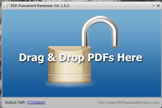 PDF Password Remover — PDF 密码移除工具[PC&Mac][29.95→0]