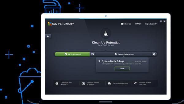 AVG PC TuneUp — 系统优化清理工具[PC][$49.99→0]