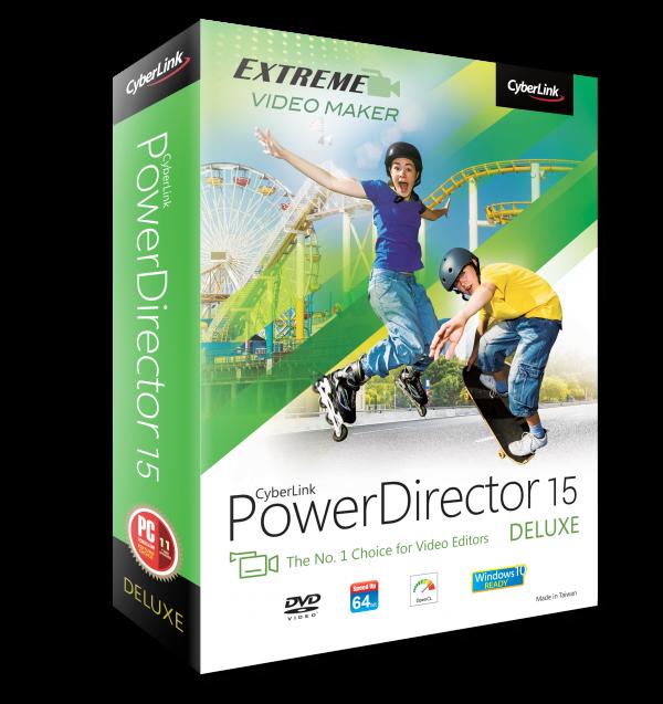 CyberLink PowerDirector 15 – 威力导演 15[PC][.99→0]