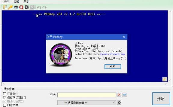 密钥批量检测工具PIDKey 2.1.2.1013