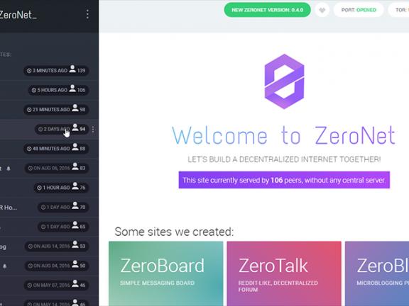 Zeronet-一分钟搭建你的p2p全球网站,不要域名,不怕宕机