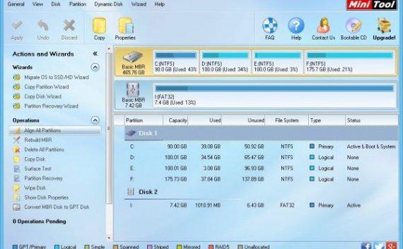 MiniTool Partition Wizard – 磁盘分区管理软件[Windows][$39→0]