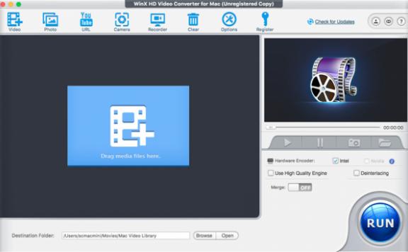 WinX HD Video Converter Deluxe – 高清视频转换软件[Windows][$49.95→0]