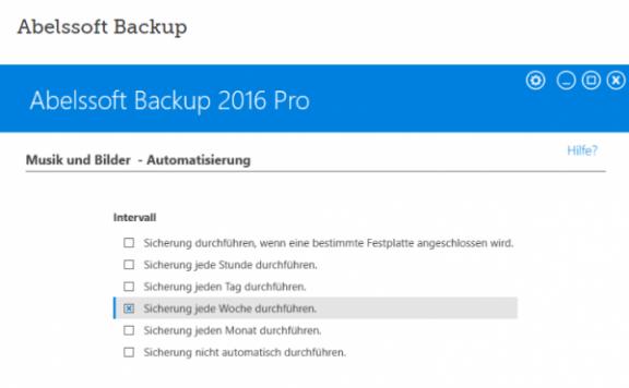 Abelssoft Backup 2016 – 数据备份还原软件[Windows][€19.9→0]