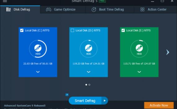 Smart Defrag Pro 5 – 磁盘碎片整理工具[PC][$19.99→0]