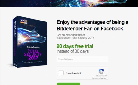 免费获取 3 个月 Bitdefender Total Security 2017 授权[Windows]