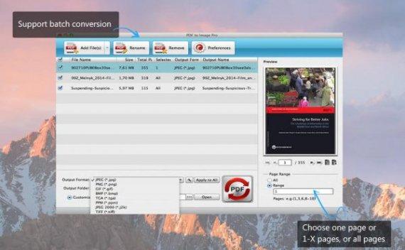 PDF to Image Pro – 将 PDF 文档转换为图片[macOS][¥98→0]