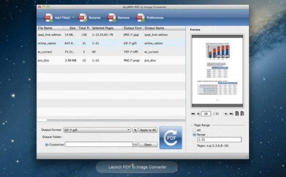 AnyMP4 PDF to Image Converter – PDF 文档转换为图片[macOS][¥128→0]
