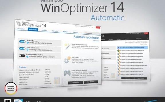 Ashampoo WinOptimizer 14 – 系统优化软件[PC][$49.99→0]
