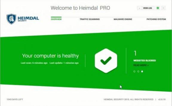 免费获取半年系统防御软件 Heimdal Pro 授权[Windows][$22→0]