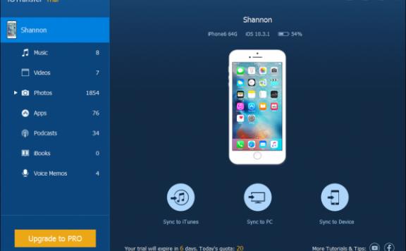 IOTransfer — iOS设备数据管理[PC][$12.47→0]