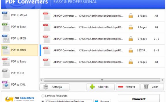 All PDF Converter – 全能 PDF 转换器[PC][$29.95→0]