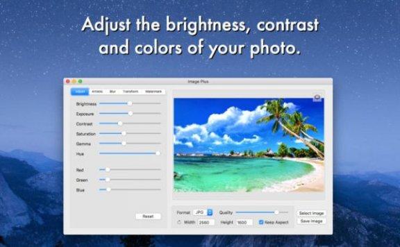 Image Plus – 照片编辑软件[Mac][¥30→0]