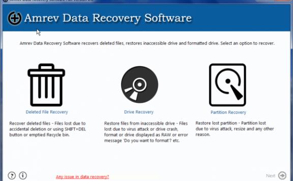 Amrev Data Recovery — 数据恢复软件[PC][$49→0]