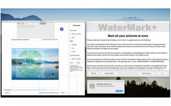 WaterMark+ — 图片水印制作工具[Mac][¥68→0]