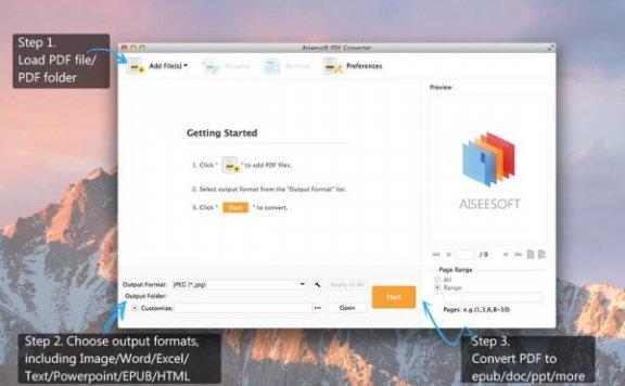 Aiseesoft PDF Converter – PDF 文档转换软件[Mac][¥163→0]