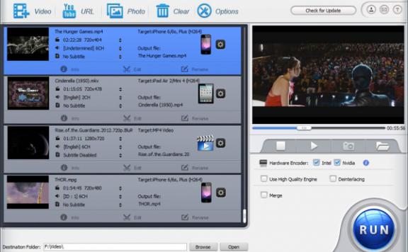 WinX HD Video Converter Deluxe – 视频转换工具[PC][$49.95→0]