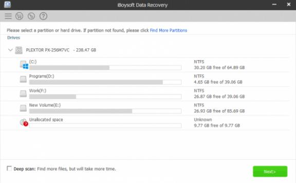 iBoysoft Data Recovery — 数据恢复软件[PC][$69.95→0]