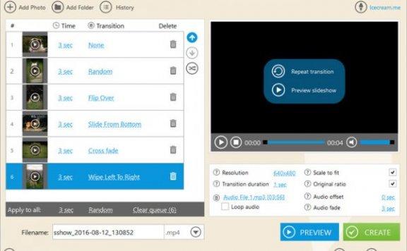 Icecream Slideshow Maker PRO – 电子相册制作工具[PC][$19.95→0]