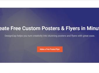 免费在线海报、传单制作工具 —— DesignCap